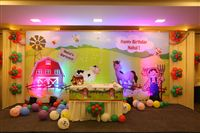 Sudhakar : This is S.Sapna mother of S.Nahul, we have ordered and recieved the barnyard theme backdrop, welcome board and photo booth. the work done given by you is awesome. Im here to thank you for all the work on time with excellent outcome everyone in functi