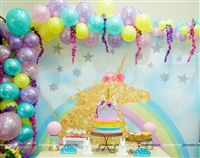 Himaja S : Unicorn backdrop turned out good. Thank you