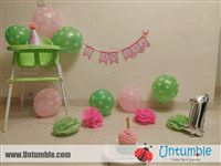 Lily : Thank you untumble for the lovely decor for my daughters smash cake session..