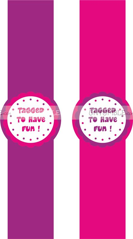 Pink & Purple Wrist bands