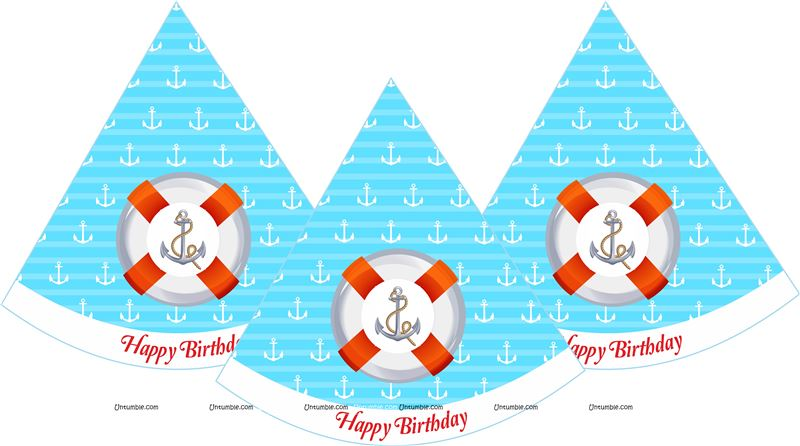 Sailor party Hats